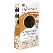 Les couleurs de Jeanne - Coloration 100% bio & végétale - Brun 2x50g