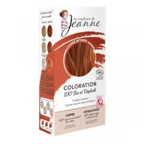 Les couleurs de Jeanne - Coloration 100% bio & végétale - Cuivré intense 2x50g