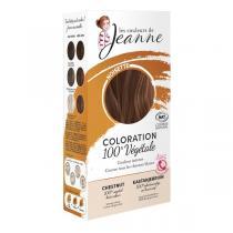 Les couleurs de Jeanne - Coloration 100% végétale - Noisette 2x50g