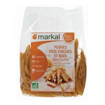Markal - Penne pois chiche & maïs 250g