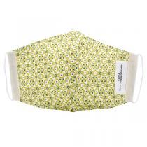 Sacasalades - Masque de protection en coton Fleurs anis - Moyen