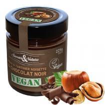 Saveurs & Nature - Pâte à tartiner noisettes et chocolat noir VEGAN 225g