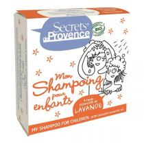 Secrets de Provence - Shampoing solide enfants lavande 85g