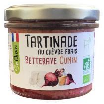So Chèvre - Tartinade au chèvre frais, betterave, cumin 90g