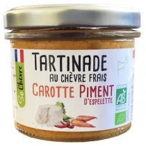 So Chèvre - Tartinade au chèvre frais, carotte, piment d'Espelette 90g
