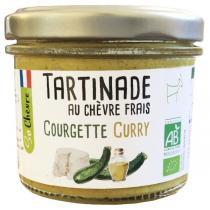So Chèvre - Tartinade au chèvre frais, courgette, curry 90g