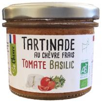 So Chèvre - Tartinade au chèvre frais, tomate, basilic 90g