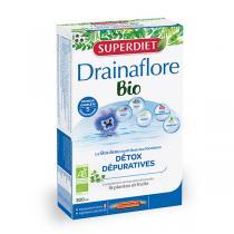 SUPERDIET - Drainaflore Bio 20 ampoules