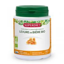 SUPERDIET - Levure de bière bio 100 capsules