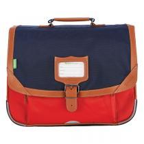 Tann's - Cartable 38 Les Bicolores Arthur Bleu/Rouge