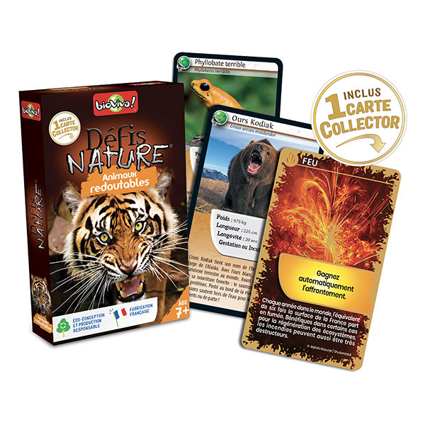 Bioviva - Defis Nature - Animaux redoutables des 7 ans