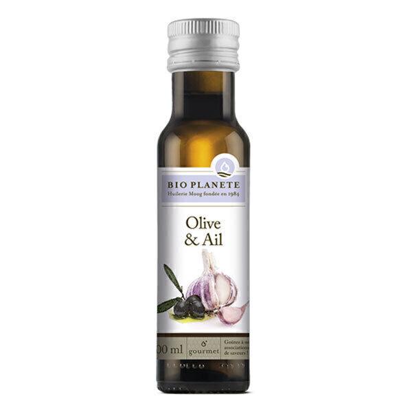 Bio Planète - Huile olive & ail 100ml