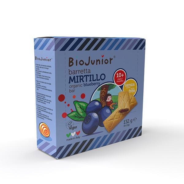 BioJunior - Barres Myrtille - dès 10 mois - 100g