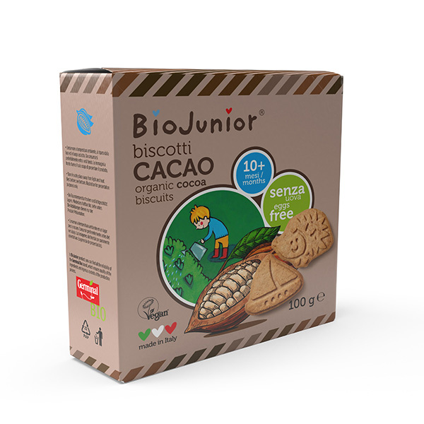 BioJunior - Biscuits Cacao - dès 10 mois - 100g