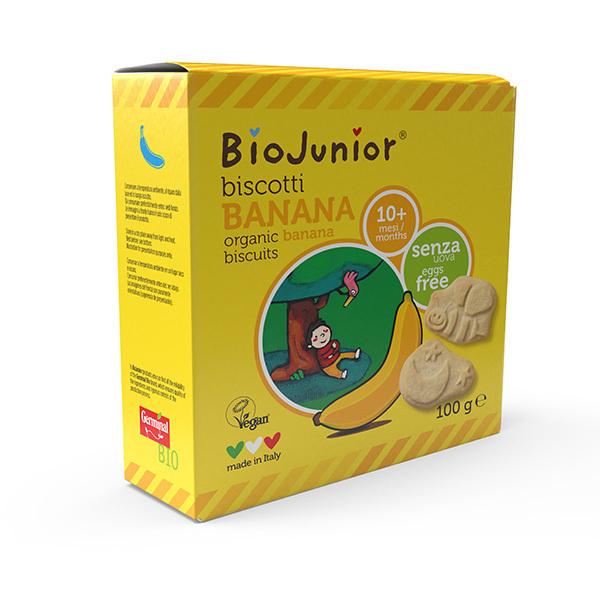 BioJunior - Biscuits Banane - dès 7 mois - 100g