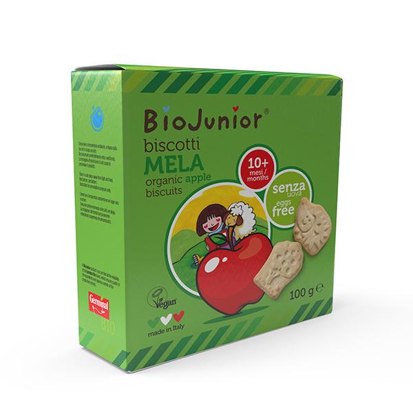 BioJunior - Biscuits Pomme - dès 10 mois - 100g