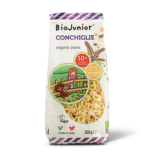 BioJunior - Pâtes Coquillages - dès 10 mois - 200g