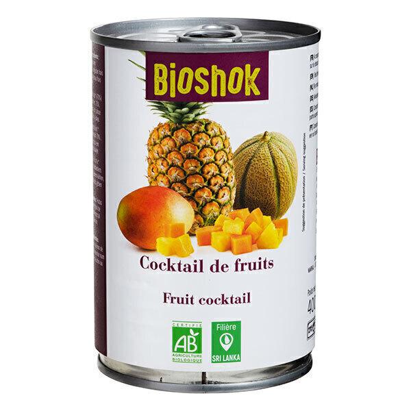 Bioshok - Mélange de fruits exotiques 400ml