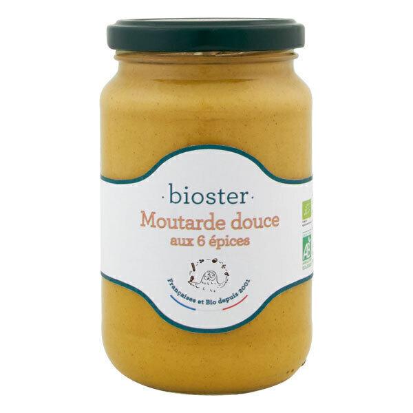 Bioster - Moutarde douce aux 6 épices 350g