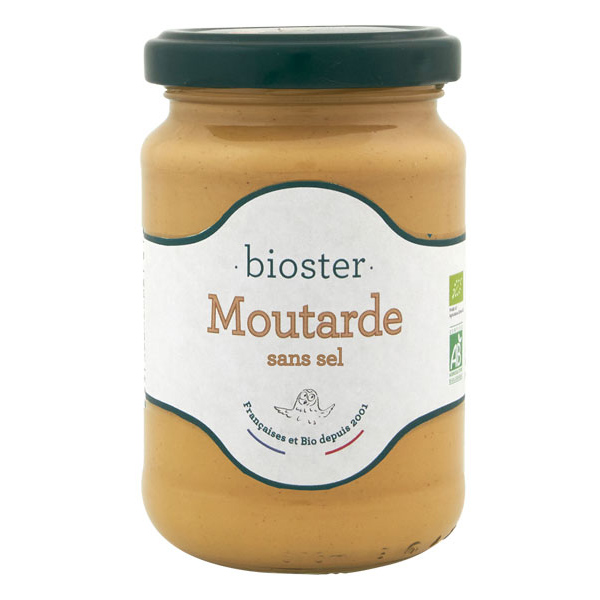 Bioster - Moutarde sans sel 200g