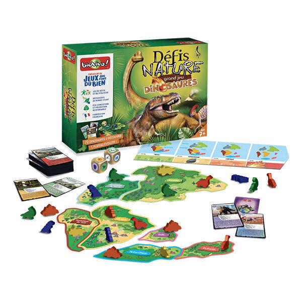 Bioviva - Le grand jeu Défis Nature - Dinosaures dès 7 ans