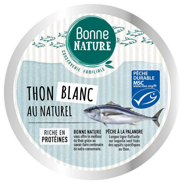 Bonne Nature - Thon blanc au naturel 160g