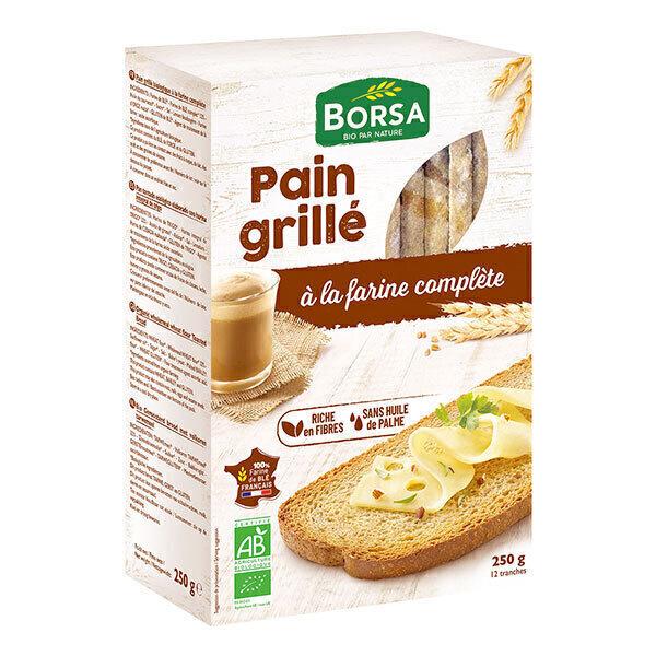 Borsa - Pain grillé à la farine complète 250g