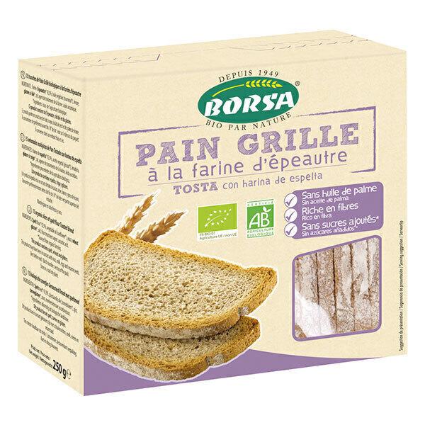 Borsa - Pain grillé à la farine d'épeautre 250g