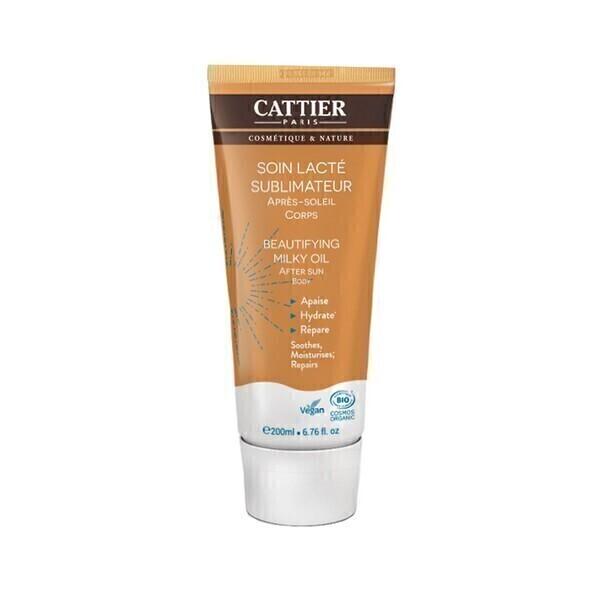 Cattier - Soin lacté sublimateur après soleil Corps 200ml