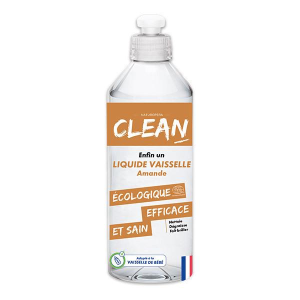 CLEAN - Liquide vaisselle Amande 50cl