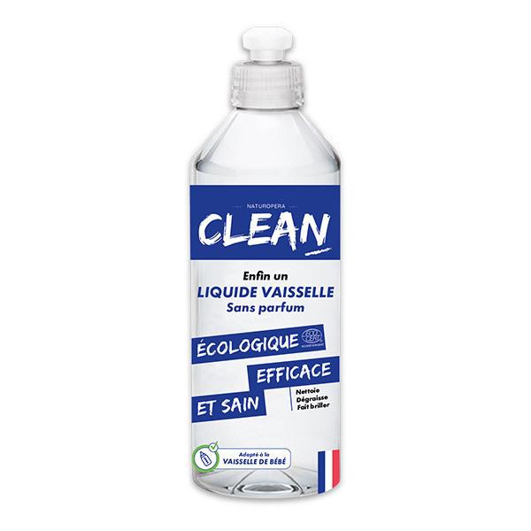 CLEAN - Liquide vaisselle Sans parfum 50cl