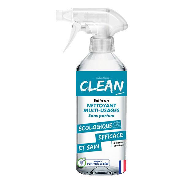 CLEAN - Spray nettoyant multi-usages Sans parfum 50cl