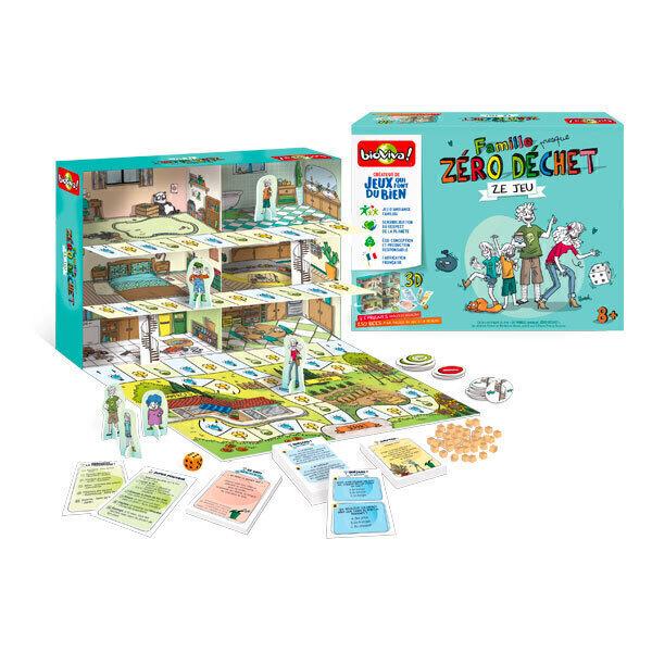 Bioviva - Famille (presque) Zero Dechet - Ze jeu des 8 ans