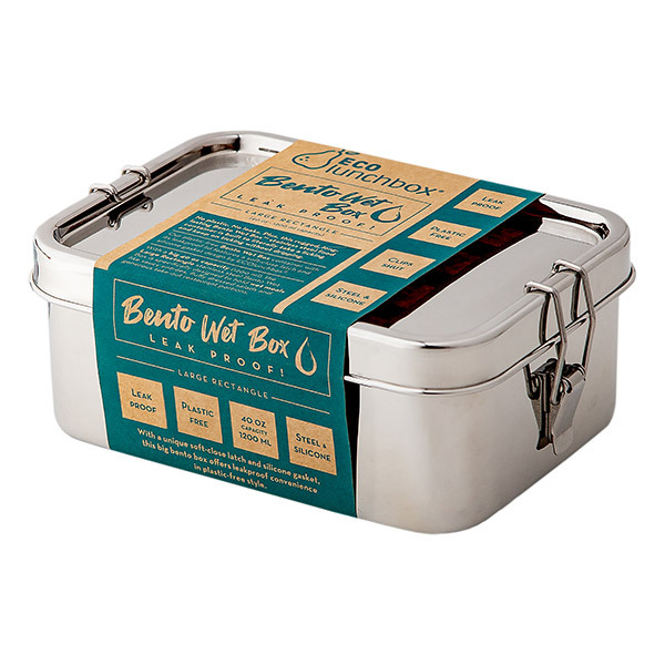 ECOlunchbox - Bento Wet Box rectangle 1.2L