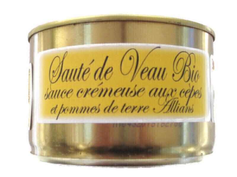 Gaec de Montredon - Sauté de veau, sauce aux cèpes & pommes de terre 450g