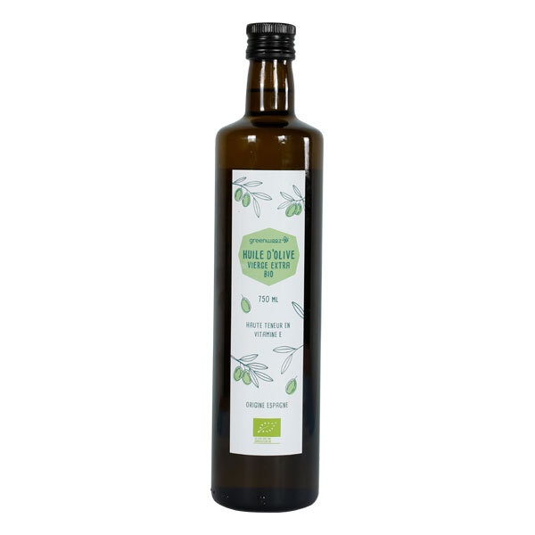 Greenweez - Huile d'olive vierge extra bio 75cl