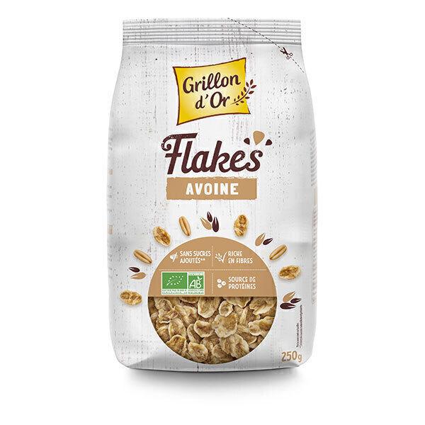 Grillon d'or - Flakes avoine nature 250g