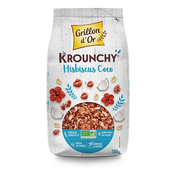 Grillon d'or - Krounchy Hibiscus Coco 500g
