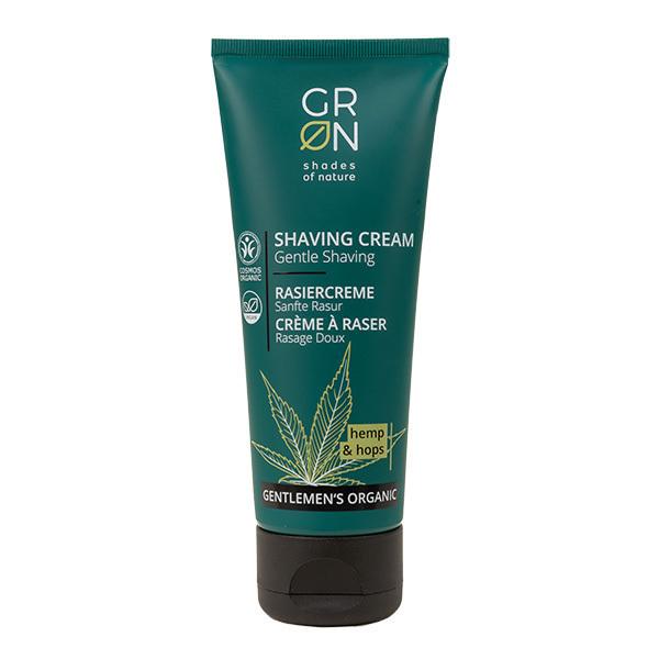 GRN - Crème à raser Chanvre & Houblon - Rasage doux - 75ml