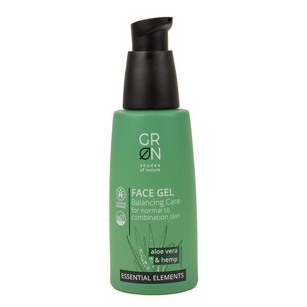 GRN - Gel visage Aloe vera & Chanvre - Soin équilibrant - 50ml