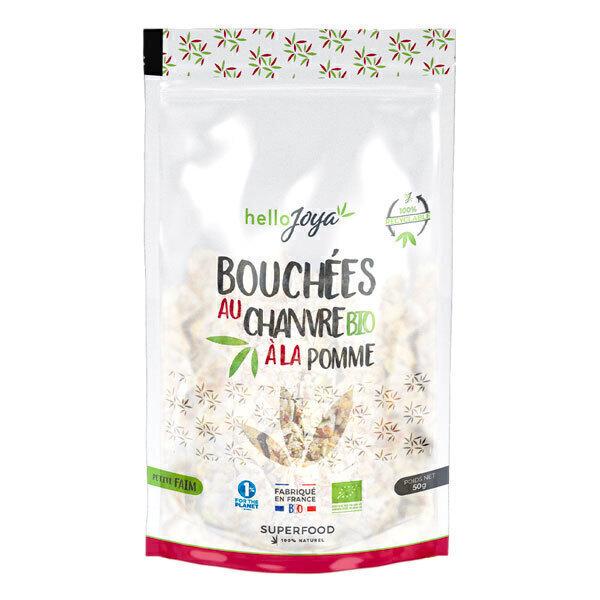 Hello Joya - Bouchées au chanvre bio à la pomme 50g
