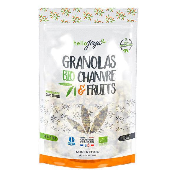 Hello Joya - Granolas bio chanvre et fruits 325g
