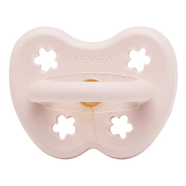 Hévéa - Sucette physiologique 0/3 mois - Rose Poudré