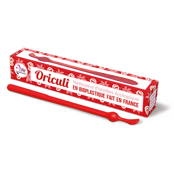 Lamazuna - Oriculi en Bioplastique - Rouge