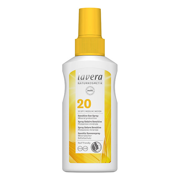 Lavera - Spray Solaire Sensitive SPF20 - 100ml