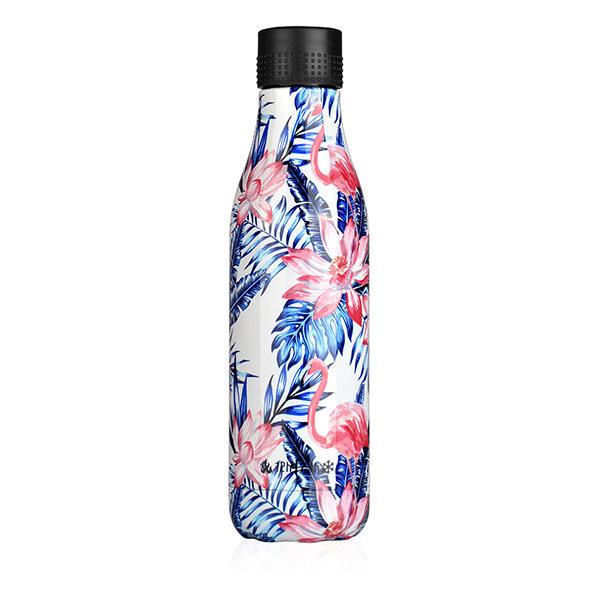 Les Artistes - Bouteille Bottle'Up Flamants et palmiers 50cl