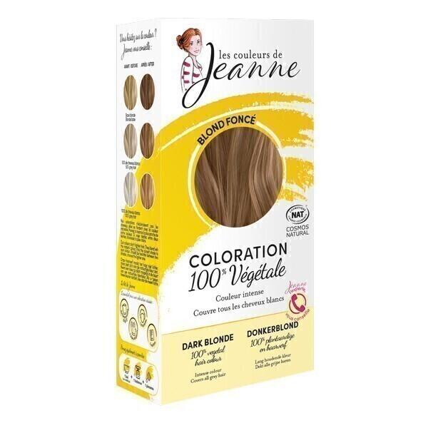 Les couleurs de Jeanne - Coloration 100% végétale - Blond foncé 2x50g
