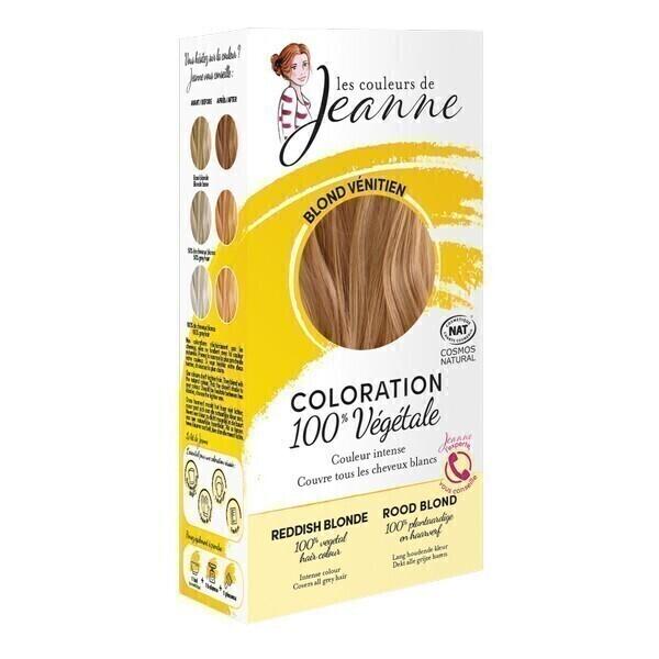 Les couleurs de Jeanne - Coloration 100% végétale - Blond vénitien 2x50g