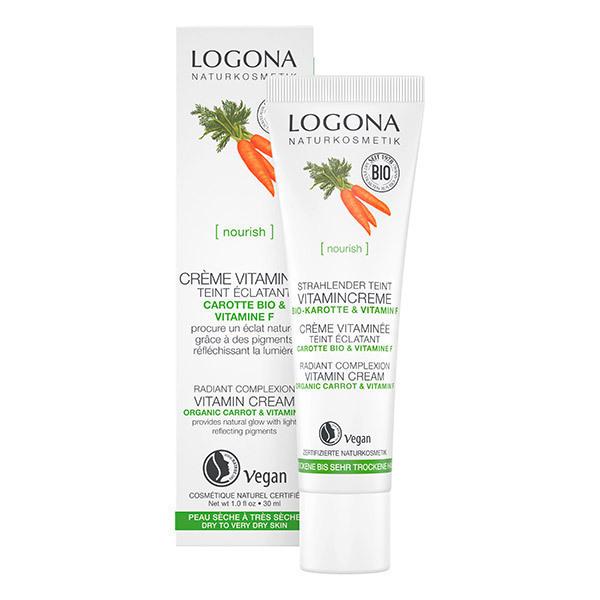 Logona - Crème vitaminée Embellisseur de teint - 30ml