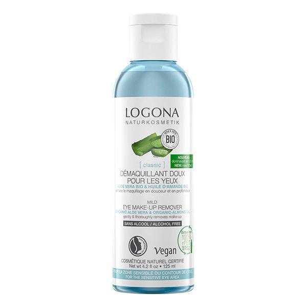 Logona - Démaquillant Doux Yeux à l'Aloe Vera Bio - 125ml